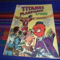 Tebeos: TITANES PLANETARIOS Nº 56. EL MARCIANO SIN DISFRAZ. NOVARO 1958. BUEN ESTADO Y RARO.. Lote 127352579