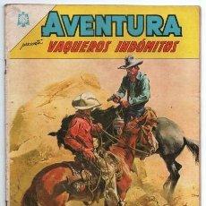 Tebeos: AVENTURA # 382 NOVARO 1965 BILL EL SONRIENTE & BILLY MAC GREGOR CON DETALLES. Lote 127464859