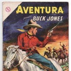 Tebeos: AVENTURA # 337 NOVARO 1964 BUCK JONES EL JINETE SIN CABEZA & LOS LIBROS DEL MUERTO MUY BUEN ESTADO. Lote 127467543