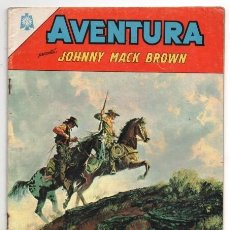 Tebeos: AVENTURA # 411 NOVARO 1965 JOHNNY MAC BROWN LA PISTA INSOSPECHADA MUY BUEN ESTADO. Lote 127467699