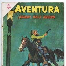 Tebeos: AVENTURA # 407 NOVARO 1965 JOHNNY MAC BROWN EL ULTIMO VIAJE DE TRUCKEE JOE MUY BUEN ESTADO. Lote 127468587