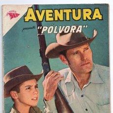 Tebeos: AVENTURA # 300 POLVORA EL HOMBRE DEL RIFLE CHUCK CONNORS LA BUSQUEDA MUY BUEN ESTADO. Lote 127468671