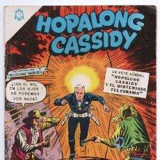 Tebeos: HOPALONG CASSIDY # 132 NOVARO 1965 WILLIAM BOYD EL GRAN CAÑON CLARENCE MULFORD BUEN ESTADO. Lote 127597819