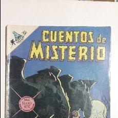 Tebeos: CUENTOS DE MISTERIO N° 145 - ORIGINAL EDITORIAL NOVARO. Lote 127641731