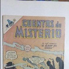 Tebeos: CUENTOS DE MISTERIO N° 136 - ORIGINAL EDITORIAL NOVARO. Lote 127641831