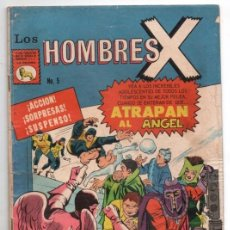 Tebeos: HOMBRES X # 5 LA PRENSA X-MEN ATRAPAN AL ANGEL MAGNETO Y SUS MUTANTES MALIGNOS ATACAN BUEN ESTADO. Lote 127687031
