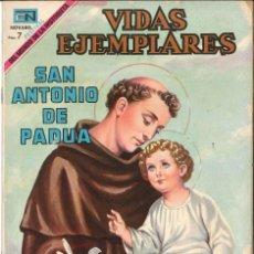 Tebeos: VIDAS EJEMPLARES NÚMERO 301 SAN ANTONIO DE PADUA EDITORIAL NOVARO. Lote 127834659