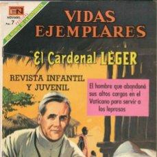 Tebeos: VIDAS EJEMPLARES NÚMERO 292 EL CARDENAL LEGER EDITORIAL NOVARO. Lote 127834879