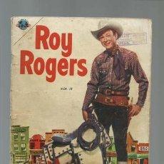 Tebeos: ROY ROGERS 15, 1953, NOVARO, BUEN ESTADO. Lote 127900791