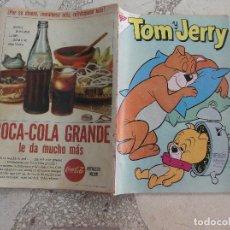 Tebeos: TOM Y JERRY Nº 194, AÑO 1962,NOVARO,PROCEDENTE DE ENCUADERNACION,LOMO ROZADO. Lote 127911563