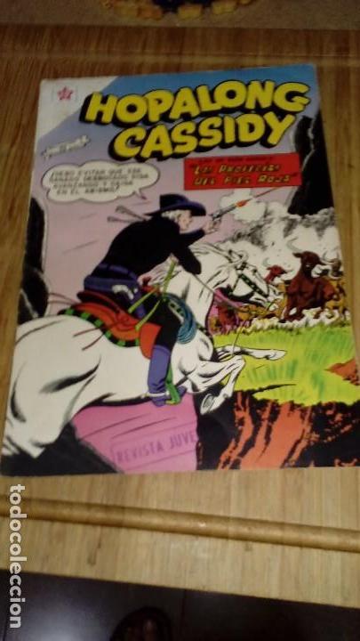 HOPALONG CASSIDY Nº 55 MUY DIFÍCIL (Tebeos y Comics - Novaro - Hopalong Cassidy)