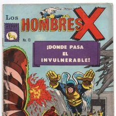 Tebeos: HOMBRES X # 13 LA PRENSA X-MEN DONDE EL INVULNERABLE PASA ANTORCHA HUMANA ANGEL BESTIA BUEN ESTADO. Lote 128061603