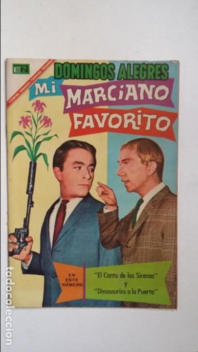 MI MARCIANO FAVORITO - DOMINGOS ALEGRES N° 698 - ORIGINAL EDITORIAL NOVARO (Tebeos y Comics - Novaro - Domingos Alegres)
