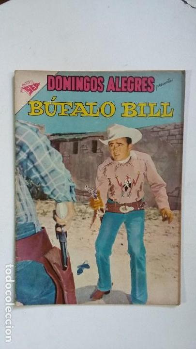 BÚFALO BILL - DOMINGOS ALEGRES N° 314 - ORIGINAL EDITORIAL NOVARO (Tebeos y Comics - Novaro - Domingos Alegres)