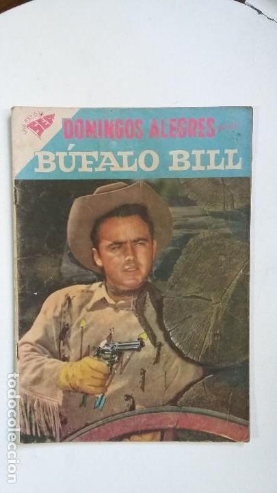 BÚFALO BILL - DOMINGOS ALEGRES N° 234 - ORIGINAL EDITORIAL NOVARO (Tebeos y Comics - Novaro - Domingos Alegres)