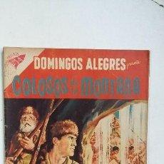 Tebeos: COLOSOS DE LA MONTAÑA - DOMINGOS ALEGRES N° 206 - ORIGINAL EDITORIAL NOVARO. Lote 128136143