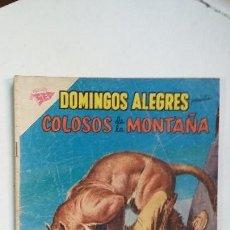Tebeos: COLOSOS DE LA MONTAÑA - DOMINGOS ALEGRES N° 283 - ORIGINAL EDITORIAL NOVARO. Lote 128136311