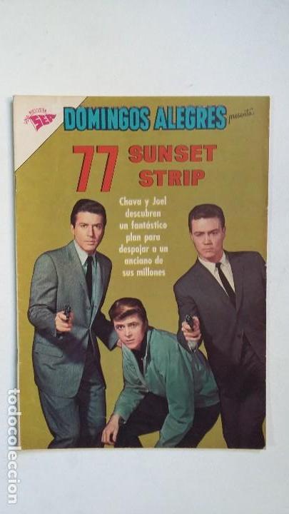 SUNSET STRIP 77 - DOMINGOS ALEGRES N° 473 - ORIGINAL EDITORIAL NOVARO (Tebeos y Comics - Novaro - Domingos Alegres)