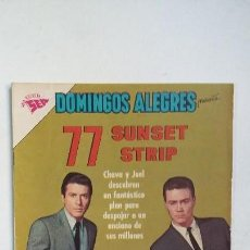 Tebeos: SUNSET STRIP 77 - DOMINGOS ALEGRES N° 473 - ORIGINAL EDITORIAL NOVARO. Lote 128137571