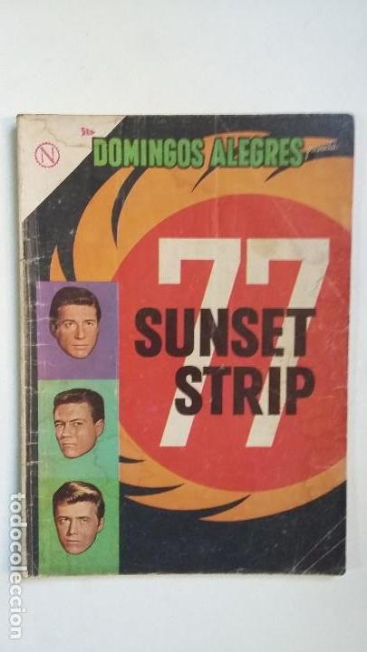 SUNSET STRIP 77 - DOMINGOS ALEGRES N° 505 - ORIGINAL EDITORIAL NOVARO (Tebeos y Comics - Novaro - Domingos Alegres)