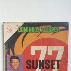 Tebeos: SUNSET STRIP 77 - DOMINGOS ALEGRES N° 505 - ORIGINAL EDITORIAL NOVARO. Lote 128137847