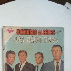 Tebeos: LOS DETECTIVES - DOMINGOS ALEGRES N° 466 - ORIGINAL EDITORIAL NOVARO. Lote 128137995
