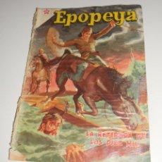 Tebeos: COMIC EPOPEYA Nº10 MARZO 1959 LA RETIRADA DE LOS DIEZ MIL DE EDITORIAL NOVARO. Lote 128168203
