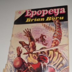 Tebeos: COMIC EPOPEYA Nº 40 SEPTIEMBRE DE 1961 BRIAN BORU DE EDITORIAL NOVARO. Lote 128240139