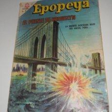 Tebeos: COMIC EPOPEYA Nº 97 JUNIO DE 1966 EL PUENTE DE BROOKLYN DE EDITORIAL NOVARO. Lote 128240651