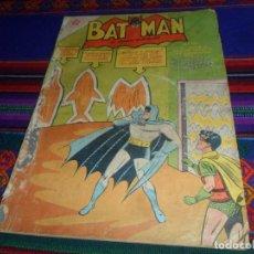 Tebeos: BATMAN Nº 53. NOVARO 1958. LAS PUERTAS QUE OCULTABAN LA MUERTE. MUY RARO.. Lote 128262635