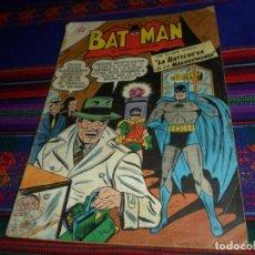 Tebeos: BATMAN Nº 59. NOVARO 1958. LA BATICUEVA DE LOS MALHECHORES. MUY RARO. . Lote 128263011