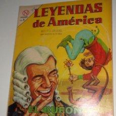 Tebeos: COMIC LEYENDAS DE AMERICA Nº99 MARZO DE 1964 EL BUFON DEL VIRREY DE EDITORIAL NOVARO. Lote 128273635