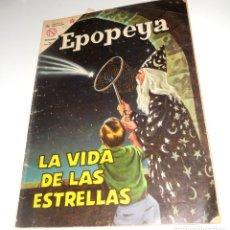 Tebeos: COMIC EPOPEYA Nº68 ENERO DE 1964 LA VIDA DE LAS ESTRELLAS DE EDITORIAL NOVARO. Lote 128274103