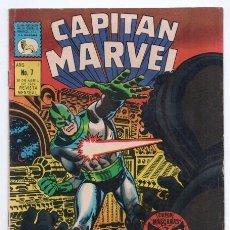 Tebeos: CAPITAN MARVEL # 7 STAN LEE JACK KIRBY 1969 VS QUASIMODO CAPTAIN MARVEL # 7 USA 24 PAG EXCELENTE. Lote 128299851
