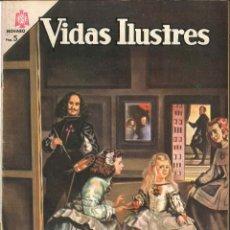 Tebeos: VIDAS ILUSTRES NÚMERO 108 VELAZQUEZ EDITORIAL NOVARO. Lote 128321743
