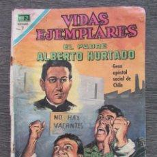 Tebeos: VIDAS EJEMPLARES. EL PADRE ALBERTO HURTADO. Nº 326. NOVARO. Lote 128323319
