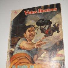 Tebeos: COMIC VIDAS ILUSTRES Nº 37 FEBRERO DE 1959 DAVID BRUCE EDITORIAL NOVARO. Lote 128325379