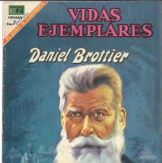 Tebeos: VIDAS EJEMPLARES NÚMERO 289 DANIEL BROTTIER EDITORIAL NOVARO. Lote 128413475