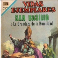 Tebeos: VIDAS EJEMPLARES NÚMERO 345 SAN BASILIO EDITORIAL NOVARO. Lote 128413591