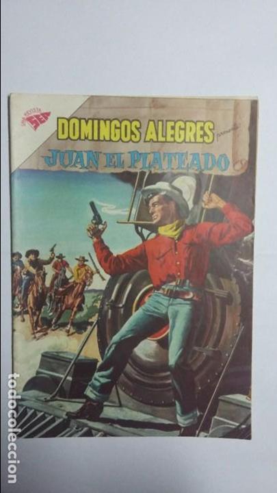 JUAN EL PLATEADO - DOMINGOS ALEGRES N° 350 - ORIGINAL EDITORIAL NOVARO (Tebeos y Comics - Novaro - Domingos Alegres)