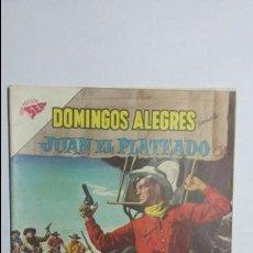 Tebeos: JUAN EL PLATEADO - DOMINGOS ALEGRES N° 350 - ORIGINAL EDITORIAL NOVARO. Lote 128413747
