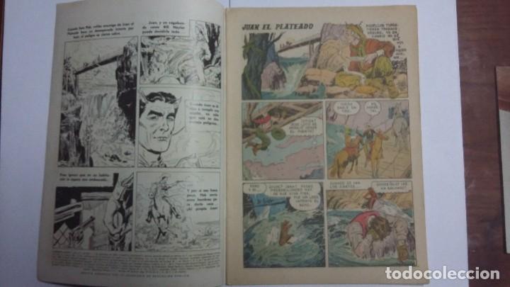 Tebeos: Juan el plateado - Domingos alegres n° 350 - original editorial Novaro - Foto 2 - 128413747