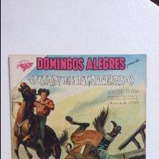 Tebeos: JUAN EL PLATEADO - DOMINGOS ALEGRES N° 327 - ORIGINAL EDITORIAL NOVARO. Lote 128413959