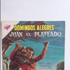 Tebeos: JUAN EL PLATEADO! - DOMINGOS ALEGRES N° 304 - ORIGINAL EDITORIAL NOVARO. Lote 128414071