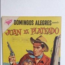Tebeos: JUAN EL PLATEADO - DOMINGOS ALEGRES N° 231 - ORIGINAL EDITORIAL NOVARO. Lote 128414363