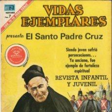 Tebeos: VIDAS EJEMPLARES NÚMERO 340 EL SANTO PADRE CRUZ EDITORIAL NOVARO. Lote 128414719