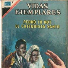 Tebeos: VIDAS EJEMPLARES NÚMERO 248 PEDRO TO ROT, EL CATEQUISTA SANTO EDITORIAL NOVARO. Lote 128415203