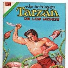 Tebeos: TARZAN # 3 NOVARO AVESTRUZ 1975 YAN-TAGÚ REINA DE LAS AMAZONAS DORADAS IMPECABLE ESTADO. Lote 128443527