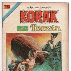 Tebeos: TARZAN # 5 NOVARO AVESTRUZ 1975 KORAK EN EL MUNDO SUBTERRANEO LOS DESTERRADOS IMPECABLE ESTADO. Lote 128444747