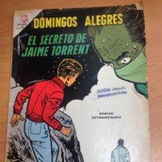Tebeos: DOMINGOS ALEGRES EXTRAORDINARIO Nº 595 EL SECRETO DE JAIME TORRENT ORIGINAL EDICIONES LUMBARD. Lote 128447831